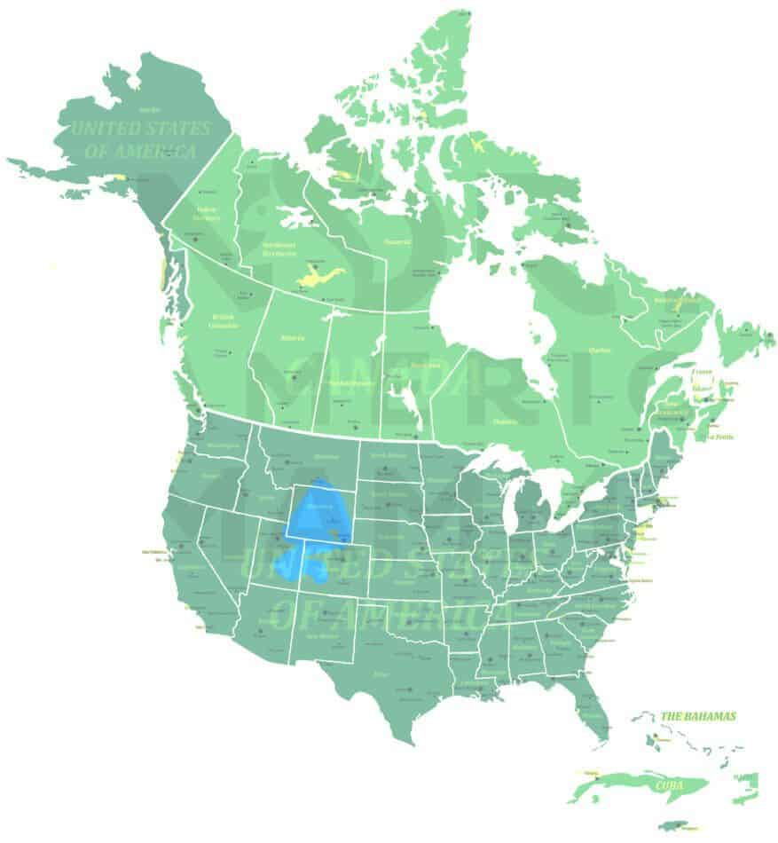 White-tailed Prairie Dog range map