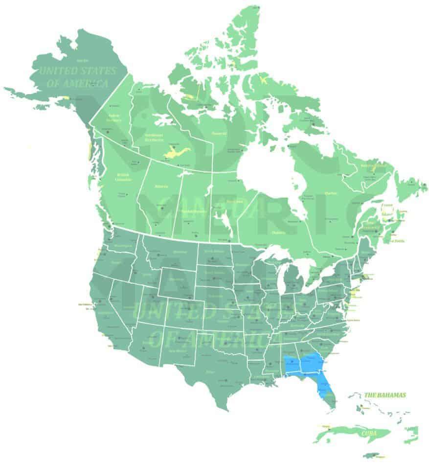 Southeastern Pocket Gopher range map